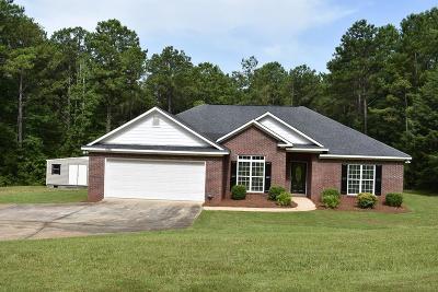 Hamilton GA Single Family Home For Sale: $197,888