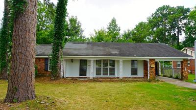 Columbus GA Single Family Home For Sale: $99,000