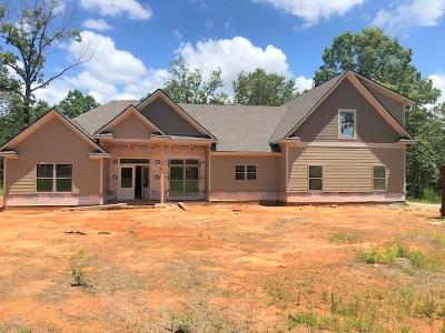 Harris County Single Family Home For Sale: Lot 9a Timberland Subdivision