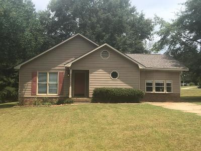 Russell County, Lee County Single Family Home For Sale: 20 Lee Road 0560