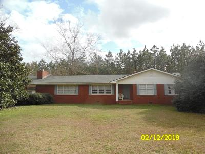Broxton Single Family Home For Sale: 444 Otis Harper Rd.