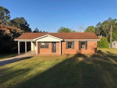 Hazlehurst Single Family Home For Sale: 307 Barney Road