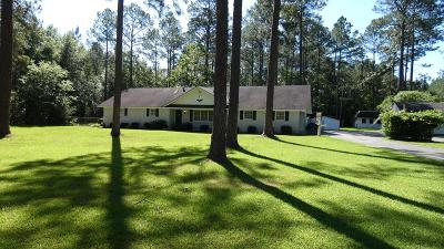 Alma Single Family Home For Sale: 588 Ga Hwy 64