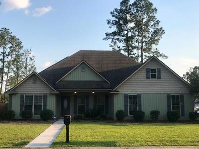 Valdosta Single Family Home For Sale: 3591 Butler Woods Drive