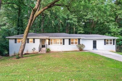 Decatur Single Family Home For Sale: 2596 Dawn Drive