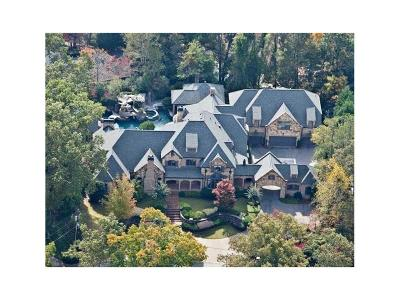 Marietta GA Single Family Home For Sale: $4,450,000