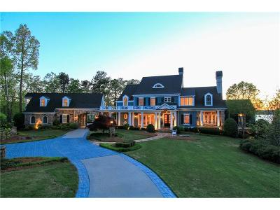 Gainesville GA Single Family Home For Sale: $3,200,000