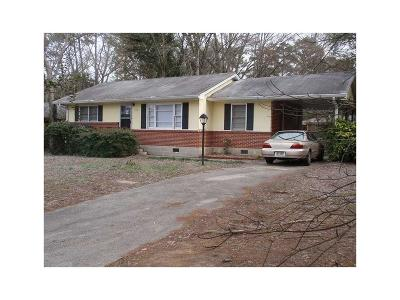 Brookhaven Single Family Home For Sale: 1416 N Druid Hills Road NE