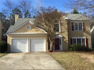 Duluth Single Family Home For Sale: 3624 Clearbrooke Way