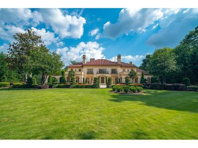 Single Family Home For Sale: 490 W Paces Ferry Road NW