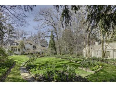 Single Family Home For Sale: 3777 Paces Ferry Road NW