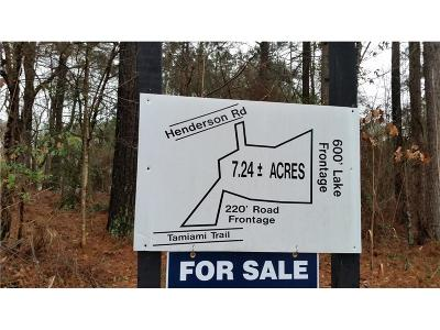 Alpharetta, Cumming, Johns Creek, Milton, Roswell Residential Lots & Land For Sale: 00 T W Henderson Road