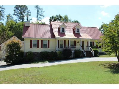 Calhoun Single Family Home For Sale: 334 Woodridge Drive NW