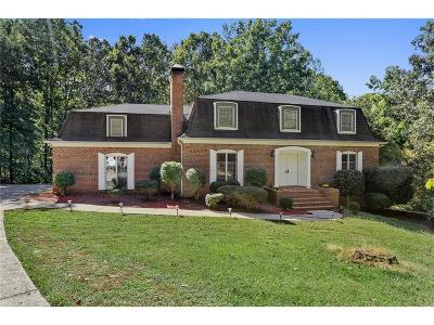 Buford Single Family Home For Sale: 6264 Cumming Highway