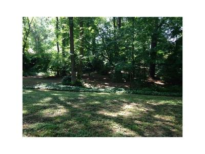 Druid Hills Single Family Home For Sale: 1176 A Lullwater Road NE