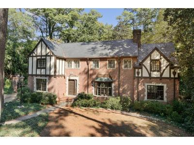 Tuxedo Park, Tuxedo Park Buckhead Single Family Home For Sale: 45 Valley Road NW