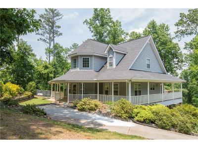 Adairsville Single Family Home For Sale: 1186 Rock Fence Road NW