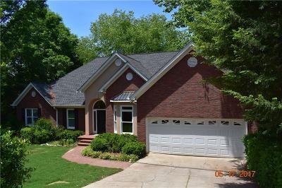 Dawsonville Single Family Home For Sale: 166 Payton Duncan Drive