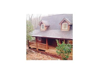 Ellijay Single Family Home For Sale: 285 Oliver Creek Road