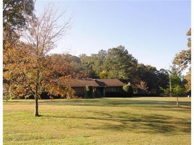 Calhoun Single Family Home For Sale: 1455 Boone Ford Road SE