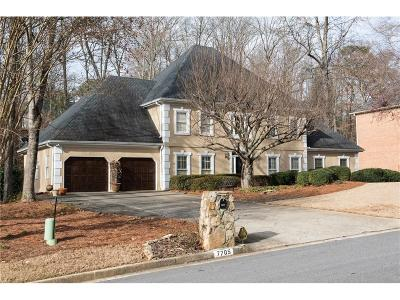 Sandy Springs Single Family Home For Sale: 7705 Wickley Way