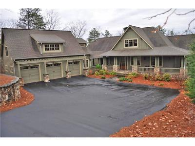 Big Canoe Single Family Home For Sale: 11 Wood Poppy Court
