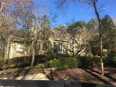Alpharetta, Milton Single Family Home For Sale: 2400 Bethany Bend