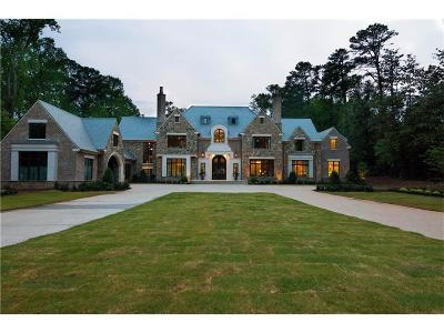 Tuxedo Park, Tuxedo Park Buckhead Single Family Home For Sale: 3800 Northside Drive NW