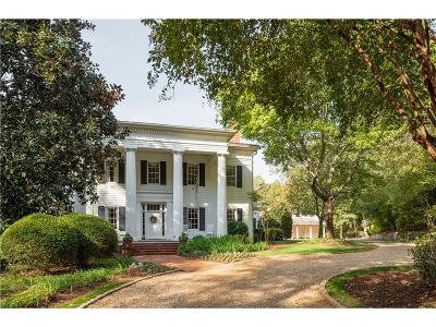 Roswell GA Single Family Home For Sale: $2,395,000