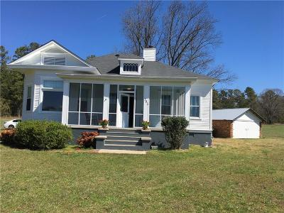 Cartersville Single Family Home For Sale: 161 Cline Smith Road NE