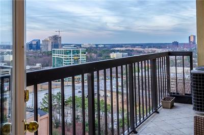 Sandy Springs Condo/Townhouse For Sale: 795 Hammond Drive #1901