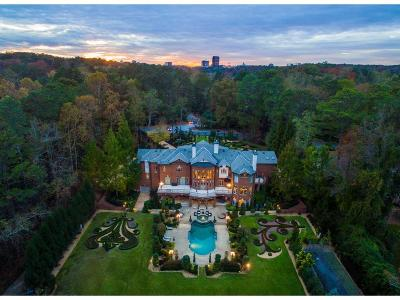 Atlanta GA Single Family Home For Sale: $4,750,000