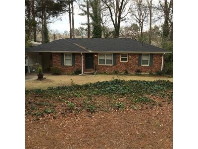 Brookhaven Single Family Home For Sale: 1904 Fairway Circle NE