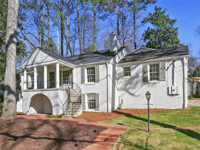 Single Family Home For Sale: 550 Spring Valley Road NW
