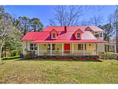 Single Family Home For Sale: 9990 S Helton Road