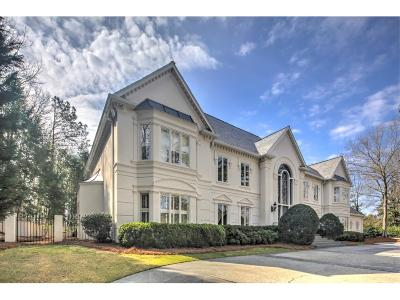 Atlanta GA Single Family Home For Sale: $4,250,000