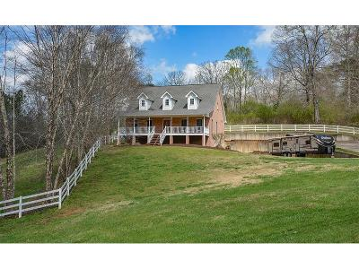 Cherokee County Single Family Home For Sale: 2405 Epperson Road