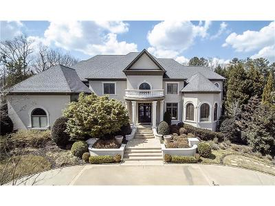 Alpharetta GA Single Family Home For Sale: $1,895,000