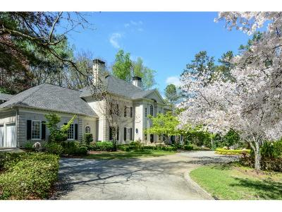 Sandy Springs Single Family Home For Sale: 12 Powers Chase Circle