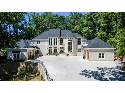 Single Family Home For Sale: 3620 Cloudland Drive