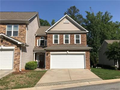 Kennesaw Condo/Townhouse For Sale: 2809 Dominion Lane NW #5