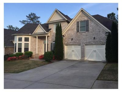 Suwanee Single Family Home For Sale: 1807 Belmont Creek Pointe
