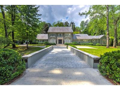 Tuxedo Park, Tuxedo Park Buckhead Single Family Home For Sale: 3700 Tuxedo Road NW