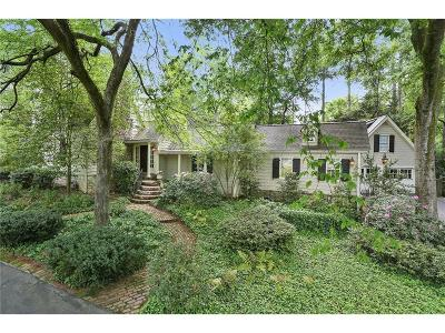 Tuxedo Park, Tuxedo Park Buckhead Single Family Home For Sale: 4047 Tuxedo Road NW