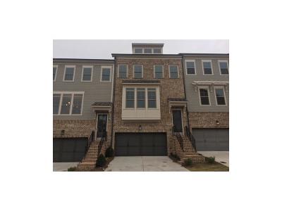 Cobb County Condo/Townhouse For Sale: 3641 Hester Avenue W #65