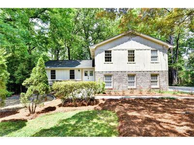 Brookhaven Single Family Home For Sale: 4256 Cranton Court NE