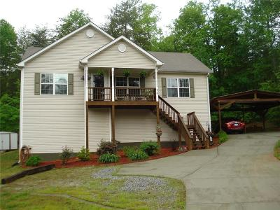 Dawsonville Single Family Home For Sale: 70 Lakeview Court