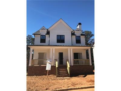 Atlanta Single Family Home For Sale: 1934 Park Chase Lane NE
