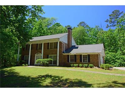 Milton Single Family Home For Sale: 12450 Charlotte Drive