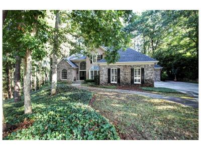 Kennesaw Single Family Home For Sale: 4656 Stepping Stone Lane NW